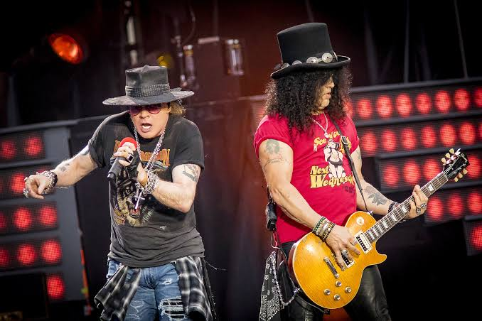 """Image result for Axl Rose Ditches """"November Rain"""" to attend Guns N' Roses"""""""