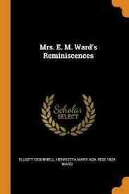 Mrs. E. M. Ward's Reminiscences by Henrietta Mary Ada Ward