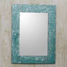 wall mirror and frame handcrafted with