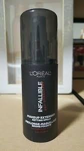 l oreal infallible pro spray set makeup
