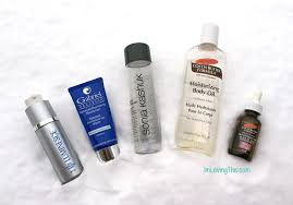 skincare empties and review