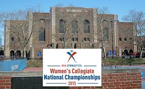 USA Gymnastics | Bridgeport, Walters look to defend titles at 2015 USA  Gymnastics Women's Collegiate National Championships this weekend