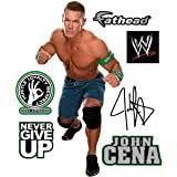 Amazon Com Fathead John Cena Teammate Officially Licensed Disney Removable Wall Decal Multicolor Home Kitchen