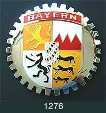 Bayern Germany Coat Of Arms Car Grille Badge Emblem Classic Auto Spares H D Rogers