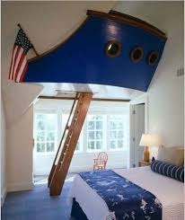 Boat Play Fort Kids Room Design Cool Kids Rooms Boys Bedrooms