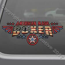 American Made Boxer Decal Sticker Usa Boxing Fighter Window Decal Boxing Sticker Decals Stickers Vinyl Art Fibsol Com