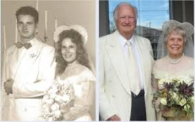 Same wedding clothes, same smiles for Chandler couple married 65 years ago  | Chandler | eastvalleytribune.com