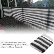 Sun Shelter Balcony Privacy Screen Cover Sunshade Protection Outdoor Canopy Garden Patio Pool Shade Sail Awning Shade Cloth Shade Sails Nets Aliexpress