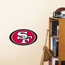 Nfl San Francisco 49ers Logo Fathead Wall Decal 14 X 9 Inches Buy Online In Bermuda Fathead Products In Bermuda See Prices Reviews And Free Delivery Over Bd 70 Desertcart