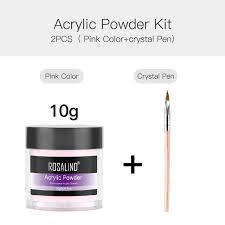 dipping crystal powder poly gel