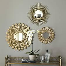 plush decorative wall mirror sets also