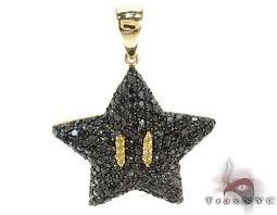 super mario bros star black color