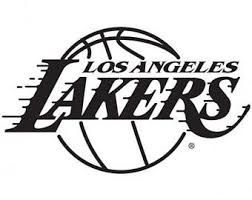 Lakers Decal Etsy