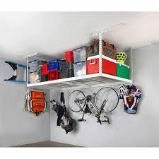 x 6 ft overhead garage storage rack