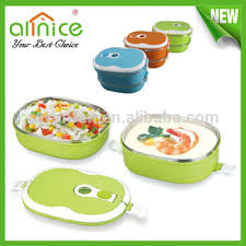 two layers thermal lunch box lunch box