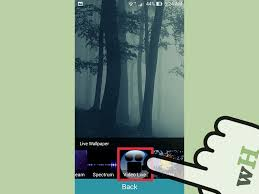videos into live wallpaper on android