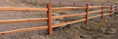 Split Rail Fencing Products Denver Colorado Rmfp