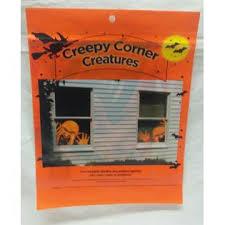 Sha Creepy Corners Creatures Monsters Window Decal Decor Indoor Outdoor Reusable Nip