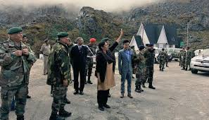 When Nirmala Sitharaman Waved At Chinese Forces Across The Fence India News Zee News