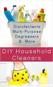 8 orted homemade household cleaners