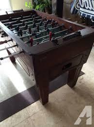 harvard wooden foosball table for