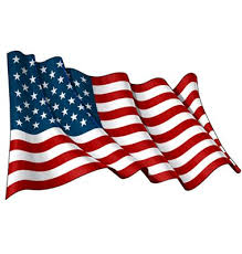 Illustration Of A Waving American Flag Against White Background American Flag Waving American Flag Art American Flag Drawing