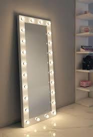 dressing hollywood mirror white 70 x 28