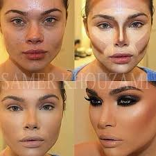 how do you contour your face with