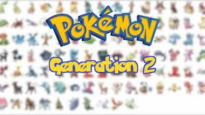 All Gen 2 Pokemon [Pokemon Johto] - YouTube