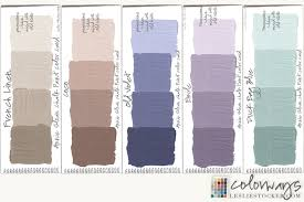 chalk paint colors colorways with