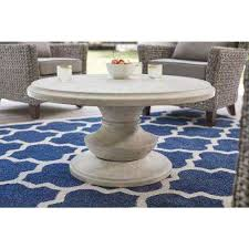 round stone outdoor coffee tables