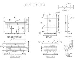wooden jewelry box woodworking plans