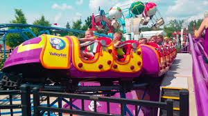 Valleyfair Amusement Park Rides Fun Mommy Addie day! - YouTube