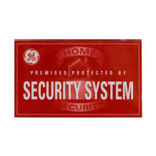 Ge Security Window Decals 5 Pack 45116 The Home Depot