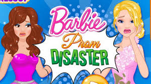 new barbie games barbie prom disaster