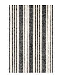 birmingham indoor outdoor rug black