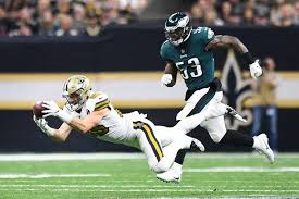 Saints agree to one-year contract with former Eagles LB Nigel ...
