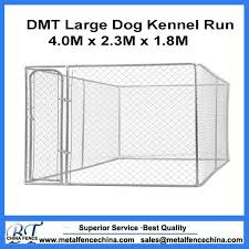 China Large Galvanized Wire Chain Link Dog Kennel Panels China Dog Kennel And Metal Dog Kennel Price