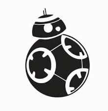 Bb 8 Bb8 Star Wars Vinyl Die Cut Car Decal Sticker Free Shipping Ebay