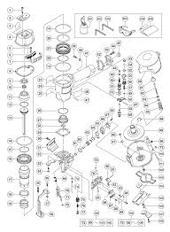 hitachi nv45ab2 repair parts