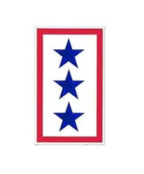 Sticker Service Flag 3 Star Cavhooah Com