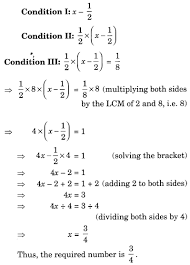 linear equations maths solutions