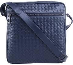 nero intrecciato messenger bag sling bag