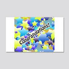 Congratulations Wall Decals Cafepress