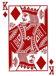 King Of Diamonds Playing Card Poker Blackjack Vinyl Wall Etsy In 2020 Cards Vinyl Wall Stickers Playing Cards