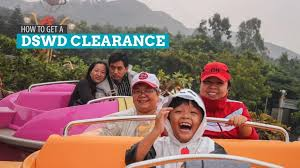 how to get a dswd travel clearance