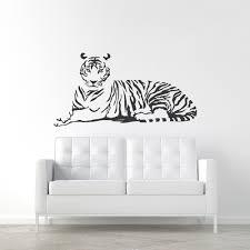 Tiger Wall Decal Tiger Wall Sticker Wallums