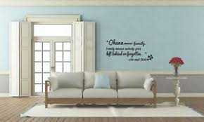 Home Office Vinyl Wall Decal Sticker Motivational Quotes Ohana Means Family Ebay