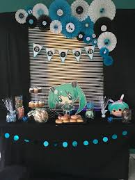Hatsune Miku Birthday Party Ideas Theme Fiesta Cumpleanos