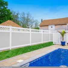 42 Vinyl Fence Home Decor Ideas For Your Yard Illusions Fence